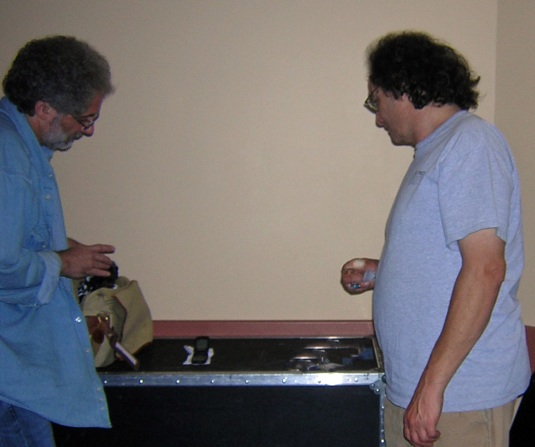 Brotpen and Scott are preparing the Deadstein cellular simulcast to Carol