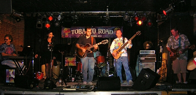 The band at the last Terez show on 10-9-2003