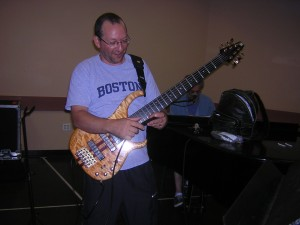 Kevin playing the Modulus on 9-4-2008