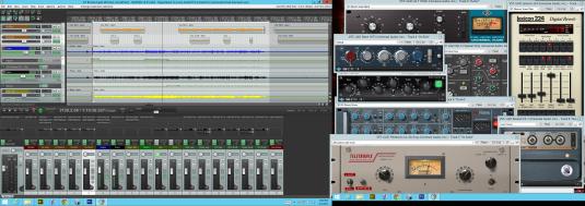 reaperandUAD-2 desktop